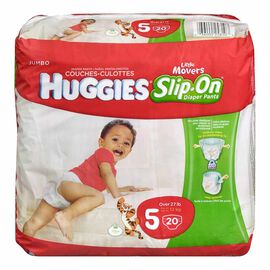 Huggies Little Movers Slip-On Diapers - Size 5 - 20's
