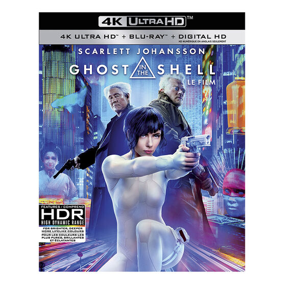 Ghost in the Shell (2017) - 4K UHD Blu-ray