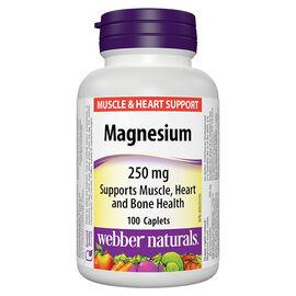 Webber Naturals Magnesium - 250mg - 100's