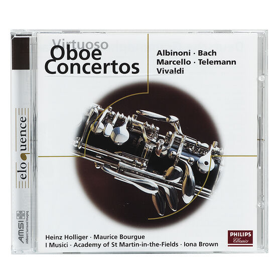Virtuoso Oboe Concertos - CD