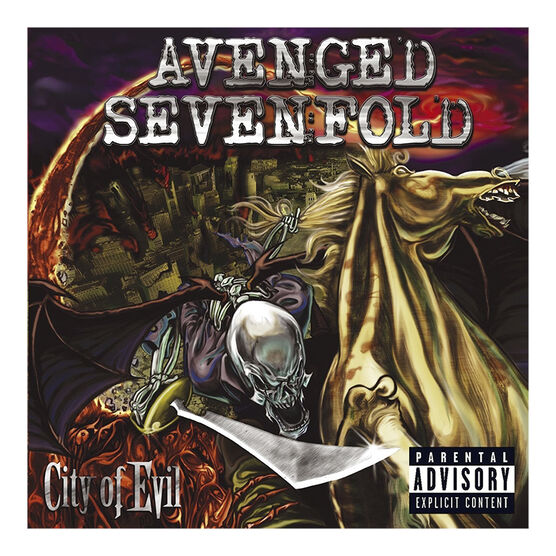Avenged Sevenfold - City Of Evil (Limited Edition) - Vinyl