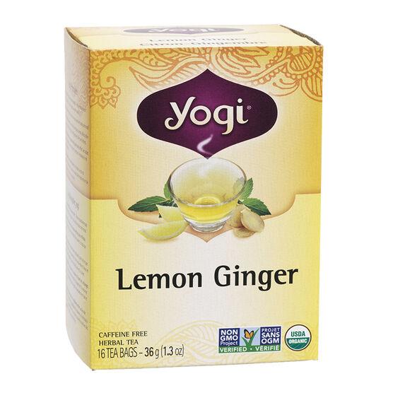 Yogi Tea - Lemon Ginger - 16's