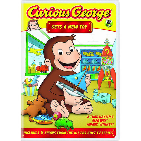 Curious George Gets A New Toy - DVD
