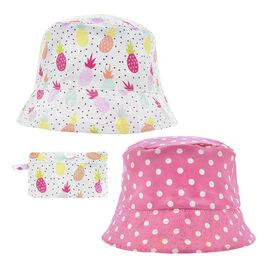 Densley Girl's Pineapple Bucket Hat