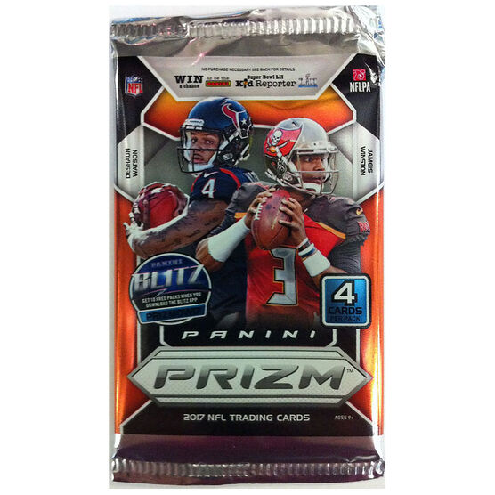 2017 Prizm Football Booster