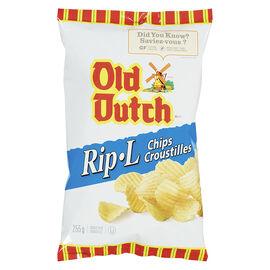Old Dutch Rip-L Chips - Original - 255g