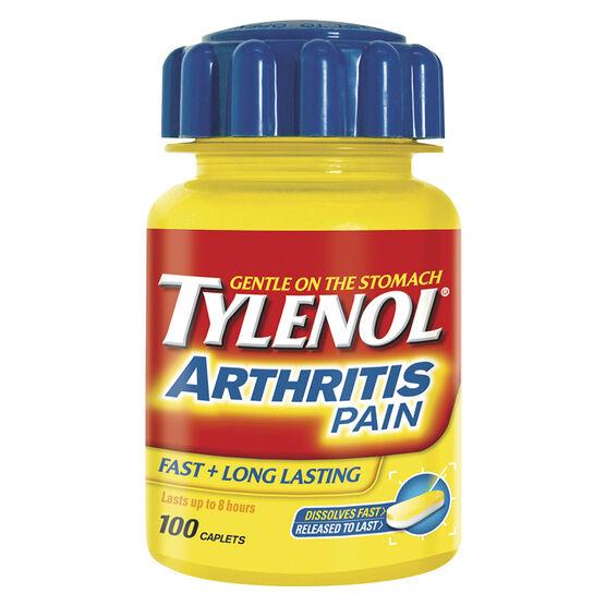Tylenol* Arthritis Pain Caplets - 100's
