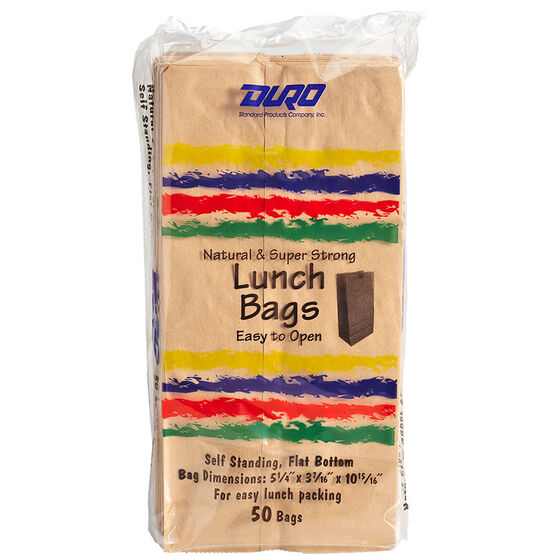 Duro Paper Lunch Bags - 50's