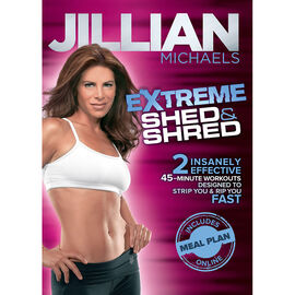 Jillian Michaels Extreme Shed & Shred - DVD