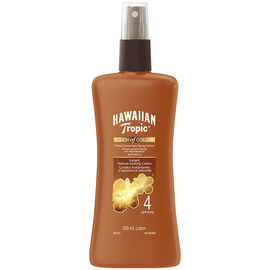 Hawaiian Tropic Touch of Colour Tinted Sunscreen Spray Lotion - SPF4 - 200ml