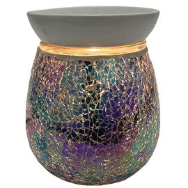 Relaxus Aromatherapy Aroma Glitter Electric Oil Diffuser - Blue
