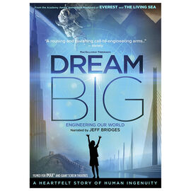 IMAX: Dream Big: Engineering Our World - DVD