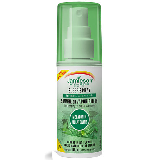 Jamieson Sleep Spray Melatonin - Mint - 58ml