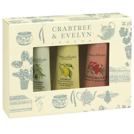 Crabtree & Evelyn Botanicals Hand Therapy Sampler - 3 piece