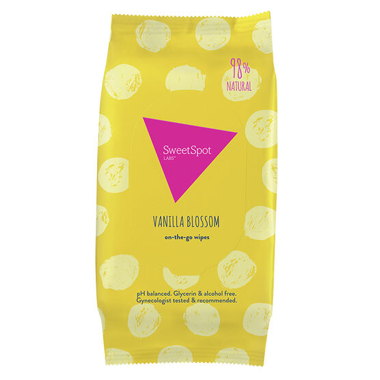 Sweet Spot Gentle Wipes - Vanilla Blossom - 30's