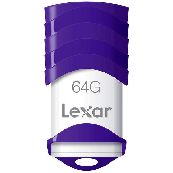 Lexar JumpDrive V30 USB 2.0 Flash Drive - 64GB - LJDV30-64GBABNL