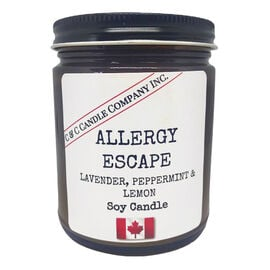 Cozy Candle Soy Candle - Allergy Escape - 9oz