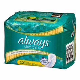 Always Ultra Thin Maxi Pads - 22's