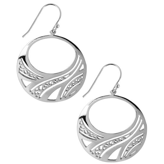 Haskell Silver Filigree Earrings