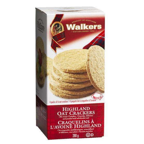 Walkers Fine Oat Crackers - Highland - 280g