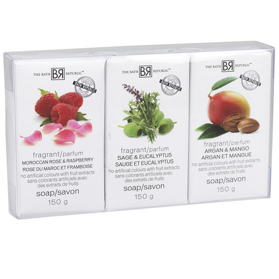 The Bath Republic Soap Set - 3 x 150g