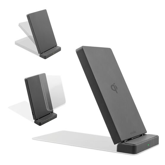 Logiix Qi Wireless Charger and Stand - Black - LGX12655