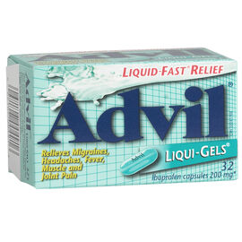 Advil Liqui-Gels - 32's