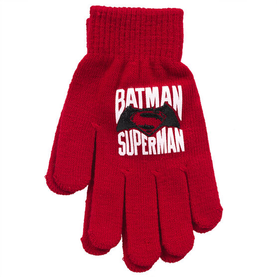 Dawn of Justice Gloves - Red - 7-10X