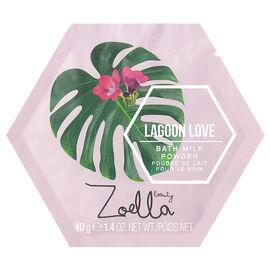 Zoella Beauty Splash Botanics Lagoon Love Bath Milk Powder - 40g