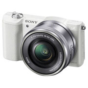 Sony A5100 with 16-50mm Lens - White - ILCE5100LW