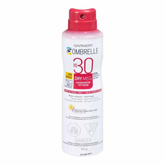 Ombrelle Dry Mist Continuous Spray - SPF 30 -142g