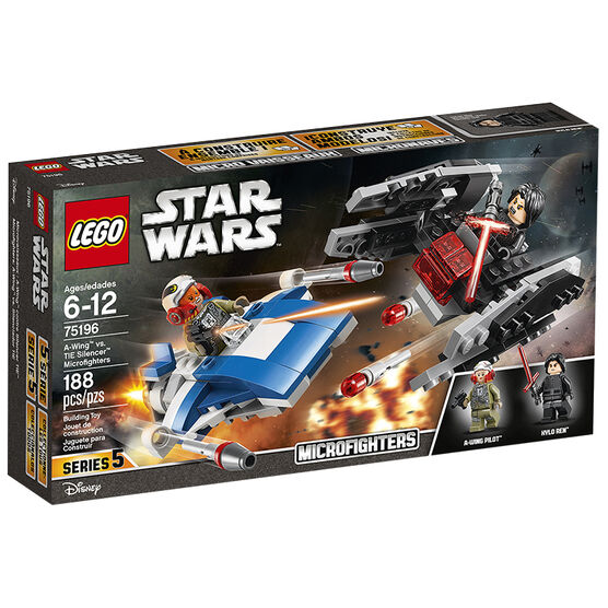 LEGO Star Wars - A-Wing vs. Tie Silencer Microfighters