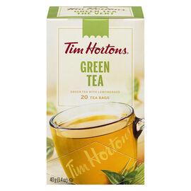 Tim Hortons Green Tea - 20 Pack