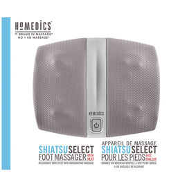 Homedics Shiatsu Select Foot Massager with Heat - FMS-255H-CA