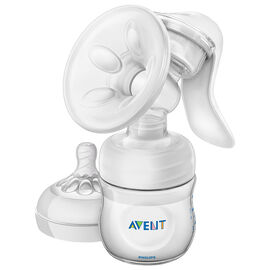 Avent Natural Single Manual Breast Pump - 4 oz - SCF330/30