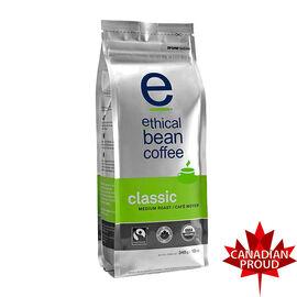 Ethical Bean Coffee - Classic Medium Roast - Whole Bean - 340g