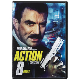Tom Selleck Action Collection - 8 Movies - DVD
