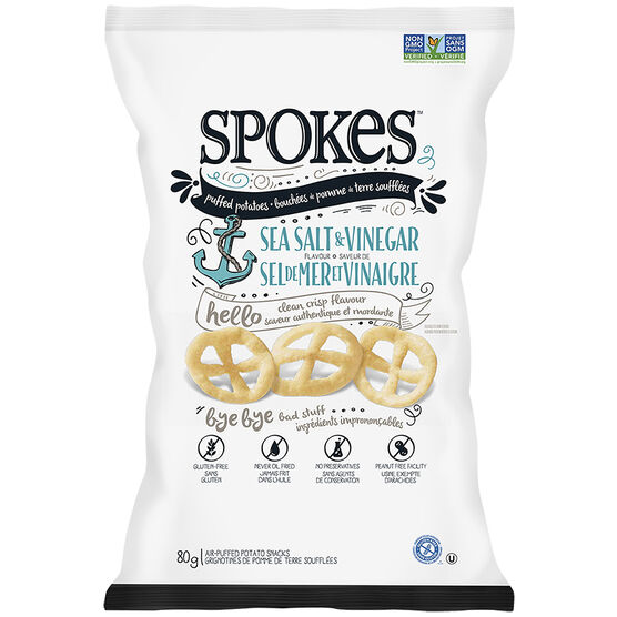 Spokes - Sea Salt & Vinegar - 80g