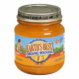 Earth's Best - Carrots - 128ml