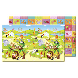 Dwinguler Soft Playmat - Zoo - Large
