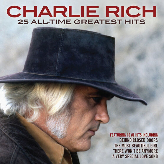 Charlie Rich - 25 All-Time Greatest Hits - CD