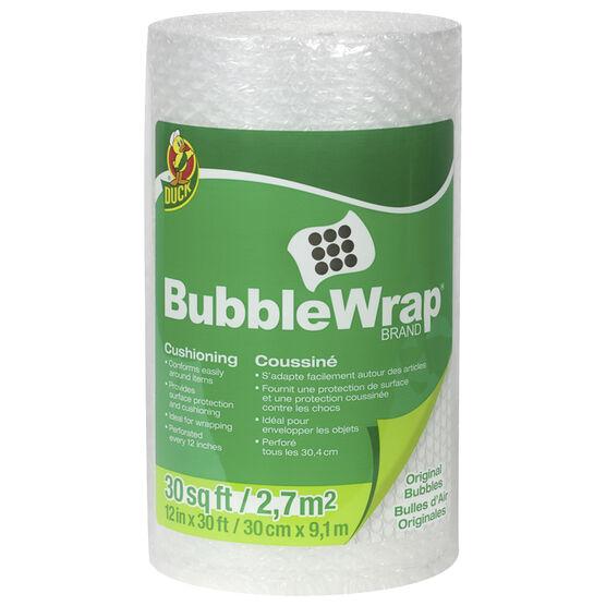 Duck Bubble Wrap - 12Inch. x 30 feet