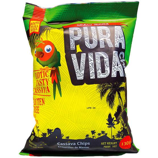 Pura Vida Cassava Chips - 130g