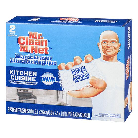 Mr. Clean Magic Eraser - Kitchen Scrubber - 2 pack