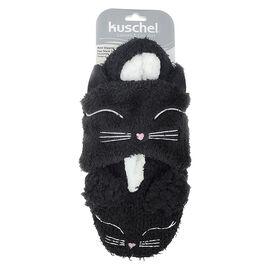 Kuschel Slipper/Eye Mask Set