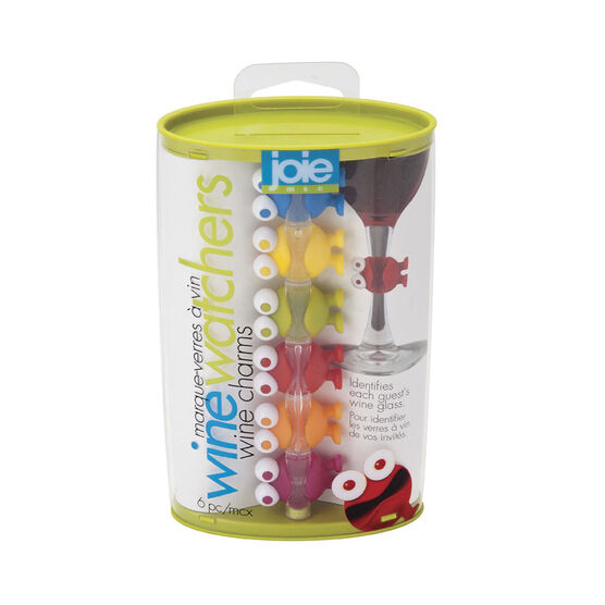 Joie Wine Watcher Charms - Assorted - 6 piece