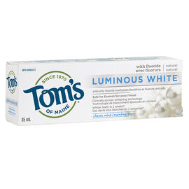 Tom's of Maine Natural Toothpaste Luminous White - Clean Mint - 85ml