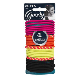 Goody Ouchless Elastics - Citrus - 30's