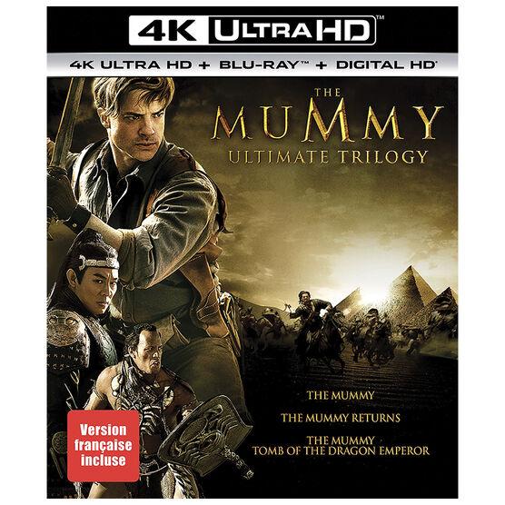 The Mummy: Ultimate Trilogy - 4K UHD Blu-ray
