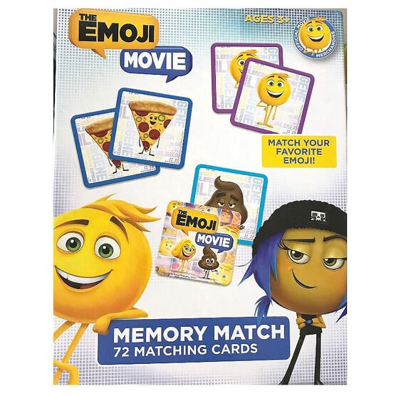 Emoji Movie Matching Game